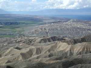 Ak Terek anticline