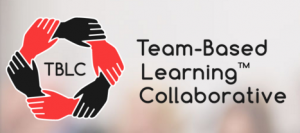 icon for and link to the website for the Team-Based Learning Collaborative