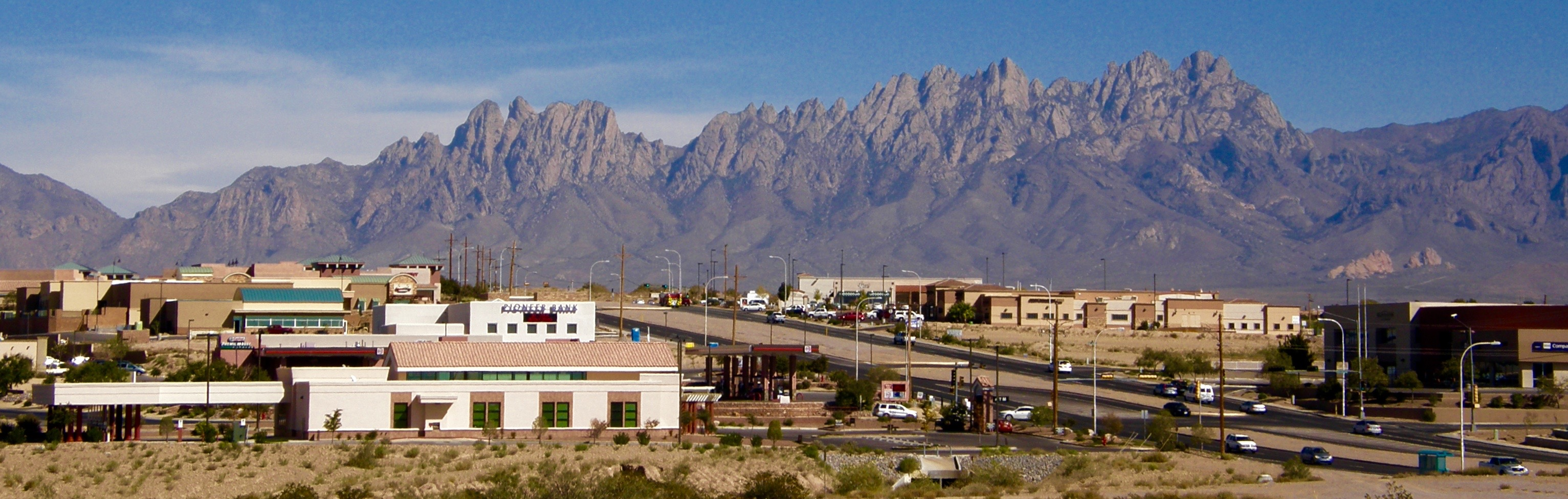 Organ Mountains, Las Cruces, NM 2012